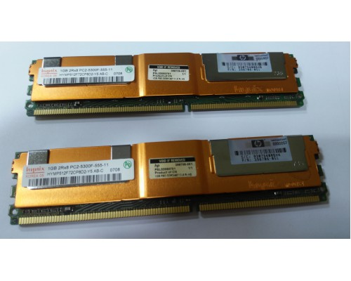 Модуль памяти HYNIX 1024Mb DDR2  PC2-5300F Б.У.